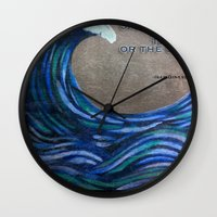 the cure Wall Clocks featuring The Cure by Jeanne Hollington