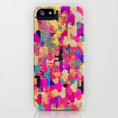 Neon Tambourine iPhone (5, 5s) Slim Case