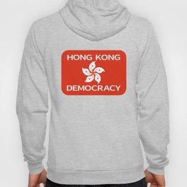 Democracy Hong Kong Flag Hoody