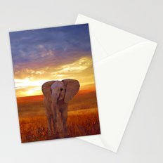 Elephant baby Stationery Cards