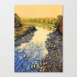 Up A Creek Canvas Print