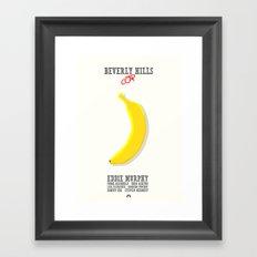 Beverly Hills Cop - minimal poster Framed Art Print