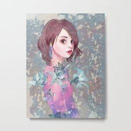 #7 Lily Metal Print