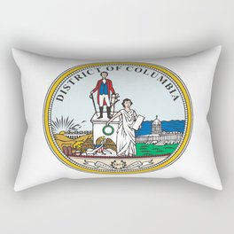 Washington DC Seal Rectangular Pillow