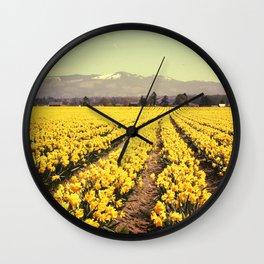 Fields of Bliss Wall Clock