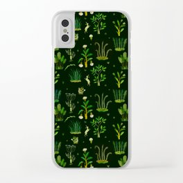 Bunny Forest Clear iPhone Case