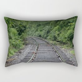 Tracks Rectangular Pillow