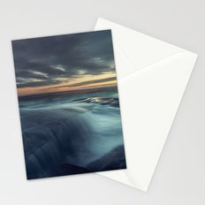 Spilling over the Point Stationery Cards