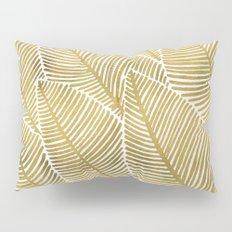 Tropical Gold Pillow Sham