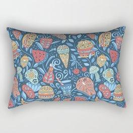 Summer cookout Rectangular Pillow