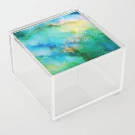 Blellow Acrylic Box