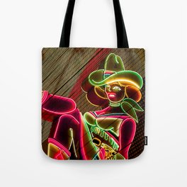 Cow girl Tote Bag