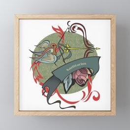 Sagittarius zodiac Framed Mini Art Print