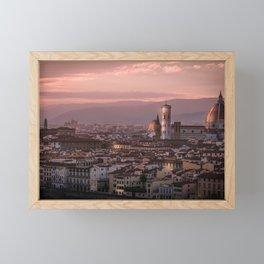 Florence, Italy Cityscape Framed Mini Art Print