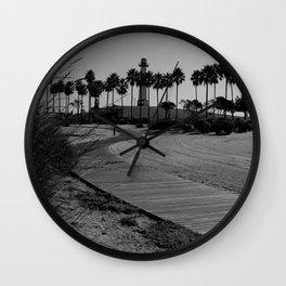 calm trails Wall Clock