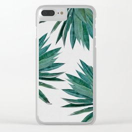 Agave Cactus Clear iPhone Case