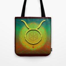 Flower of Life TAURUS Astrology Design Tote Bag