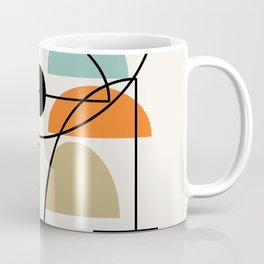 "Mid Century Modern ""Bowls"" Coffee Mug"
