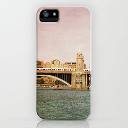 Red Line iPhone Case