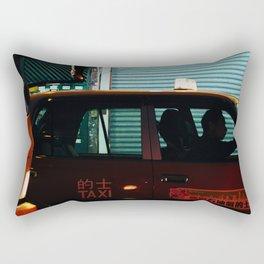 Taxicab Driver (Color) Rectangular Pillow
