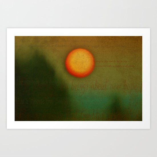 Morn - Textured Photography Art Print