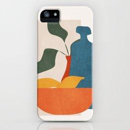 Minimalist Still Life Art iPhone Case