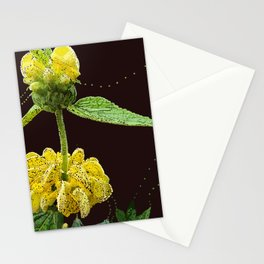 Yellow Foof Stationery Cards