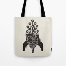 Swords Into Plowshares Tote Bag