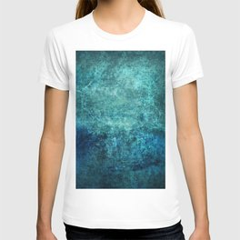 Turquoise Ocean Marble T-shirt