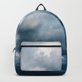 Rain Storm Clouds Gathering On Sky, Stormy Sky, Infinity Backpack