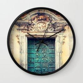 Trapani art 22 Sicily Wall Clock