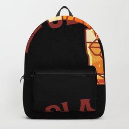 CIGAR AND WHISKY SLAINTE Cigar Aficionado Gift Cigar Smoker Backpack