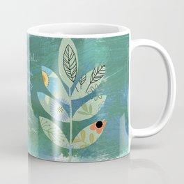 Thank you God (Leaf art) Coffee Mug