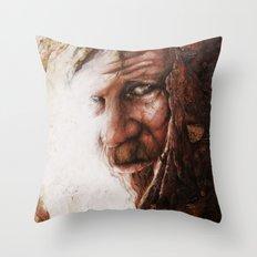 Le Voyageur Throw Pillow