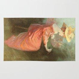 Vintage poster - La Peinture Rug