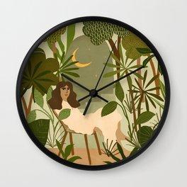 Jungle Dreams Wall Clock