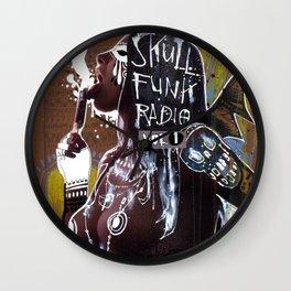 SKULL FUNK RADIO VOL. 1 Wall Clock