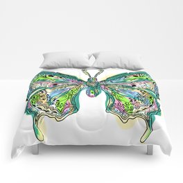 Fly Butterfly Comforters