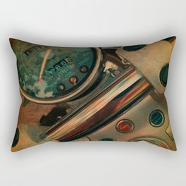 Bird of the Open Road Rectangular Pillow