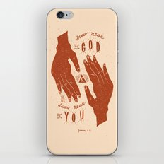 11/52: James 4:8  iPhone & iPod Skin