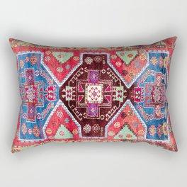 Malatya  Antique Turkish Rug Print Rectangular Pillow