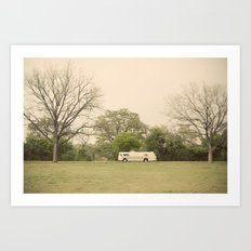lost in the trees::austin Art Print