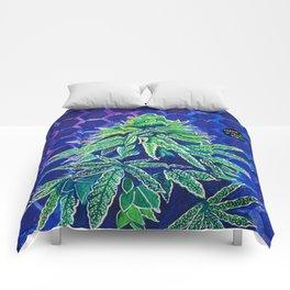 Purple Kush Comforters