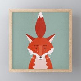 Fancy Fox Framed Mini Art Print