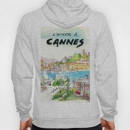 Winter In Cannes Hoody