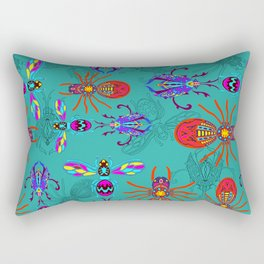 Jungle Bugs Rectangular Pillow