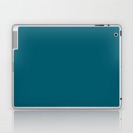 Sherwin Williams Trending Colors of 2019 Oceanside (Dark Aqua Blue) SW 6496 Solid Color Laptop & iPad Skin