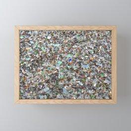 glass beach #2 Framed Mini Art Print