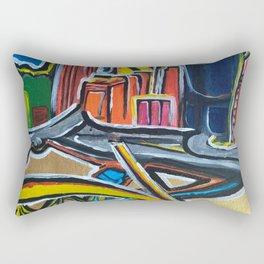 Brisbane City - A Bright Painting Rectangular Pillow