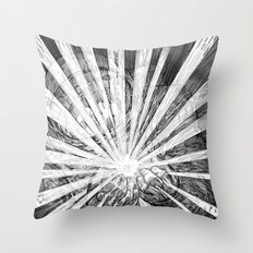 Whiteout Throw Pillow